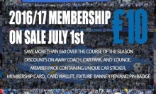 Have you renewed your membership 2016/17