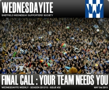 Wednesdayite Weekly - 2012/13 Issue #32