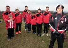Wednesdayite helps Junior Football Club play on.