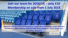 Join Our Team For 2018/19