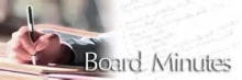 Board Meeting Minutes | 2012 -2013