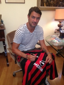 Paolo Maldini and Samuel Eto Sign  - In aid of Patrick O'Connell Memorial Fund