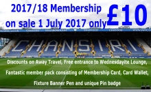 Car park/membership update 14th August 2017