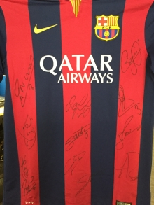 Signed Barcelona Shirt - Auction in aid of Patrick O'Connell Memorial Fund